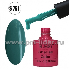 Гель-лак Shellac BlueSky, цвет №761