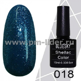 Гель-лак Shellac BlueSky (Серия М) №018