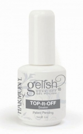 Gelish Harmonyi Top it off 15 ml. Финиш-гель