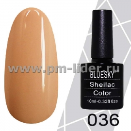 Гель-лак Shellac BlueSky (Серия М) №036