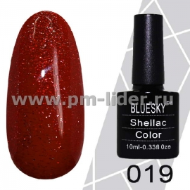 Гель-лак Shellac BlueSky (Серия М) №019