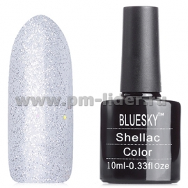 Гель-лак Shellac BlueSky, цвет: 80573 ICE VAPOR