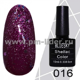 Гель-лак Shellac BlueSky (Серия М) №016