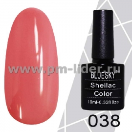 Гель-лак Shellac BlueSky (Серия М) №038