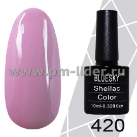 Гель-лак Shellac BlueSky (Серия М) №420