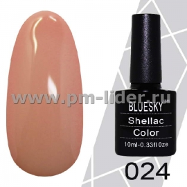 Гель-лак Shellac BlueSky (Серия М) №024