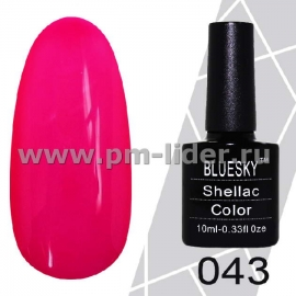 Гель-лак Shellac BlueSky (Серия М) №043