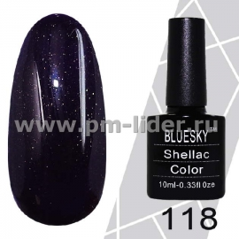 Гель-лак Shellac BlueSky (Серия М) №118