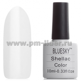 Гель-лак Shellac BlueSky, цвет: 40501/80501 CREAM PUFF