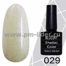 Гель-лак Shellac BlueSky (Серия М) №029