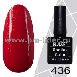 Гель-лак Shellac BlueSky (Серия М) №436