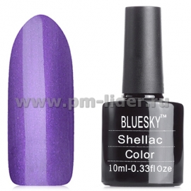 Гель-лак Shellac BlueSky, цвет: 80551 GRAPE GUM