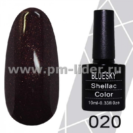 Гель-лак Shellac BlueSky (Серия М) №020