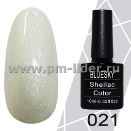 Гель-лак Shellac BlueSky (Серия М) №021